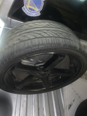 22 inch rims for Sale in Brentwood, CA