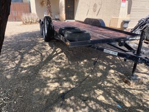 2017 heavy duty car hauler 7x16 for Sale in Surprise, AZ