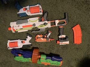 Nerf Gun Lot (read description for pricing) for Sale in South Attleboro, MA