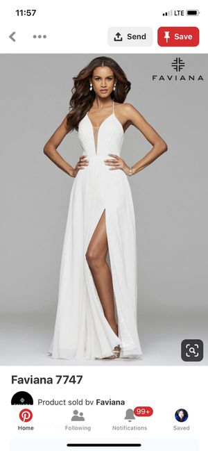 Prom/wedding dress for Sale in Dallas, TX