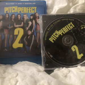 Pitch Perfect 2 Movie + CD for Sale in Lake Elsinore, CA