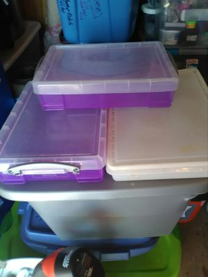 3 under bed storage containers for Sale in Melbourne, FL
