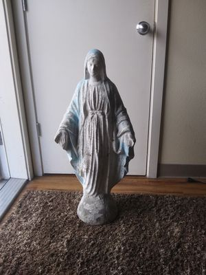 Mother mary collectable statue for Sale in Tacoma, WA
