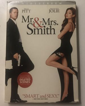 Mr. & Mrs. Smith DVD Movie for Sale in West Covina, CA