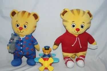 Daniel Tiger's Neighborhood Friends Talking Plushies & Airplane Includes: Pull back action airplane Daniel Tiger's Neighborhood Friends Talking Plush for Sale in Seattle,  WA