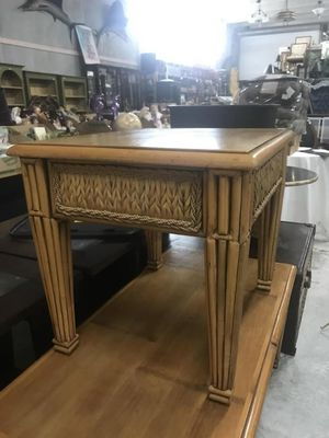 Light Seagrass Coffee & End table for Sale in Vero Beach, FL