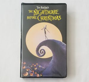 The Nightmare Before Christmas [VHS] for Sale in Union City, CA