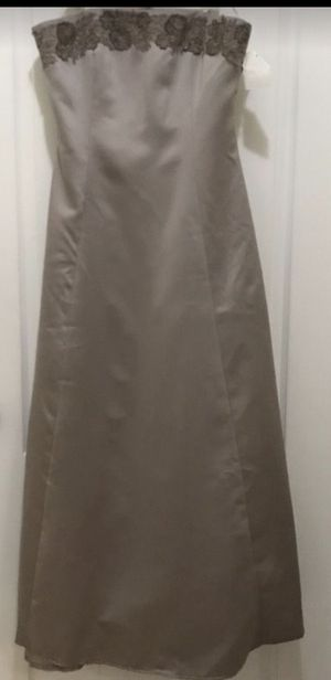Formal Gray Dress Size14 for Sale in Hialeah, FL