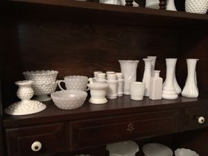 Vintage Milk glass collection for Sale in Clovis, CA