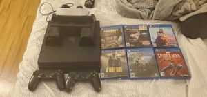 1TB ps4 pro bundle take it immediately for Sale in Chandler, AZ