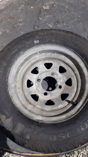 Trailer rim and tire for Sale in Hemet, CA