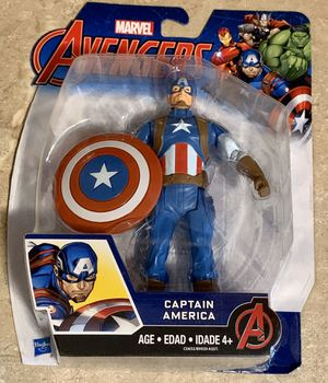 Hasbro Marvel The Avengers Captain America Figure New In Box for Sale in North Ridgeville, OH