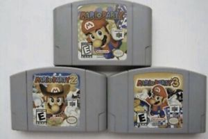 N64 - Nintendo 64 - Mario Party 123. All 3 games for Sale in Lowellville, OH