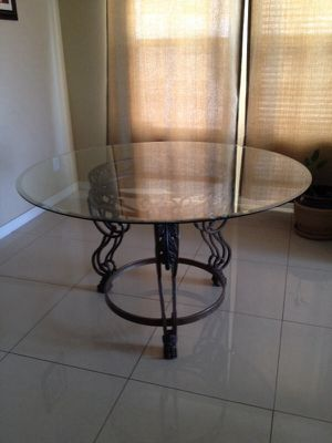 Rod iron dining table for Sale in Casa Grande, AZ