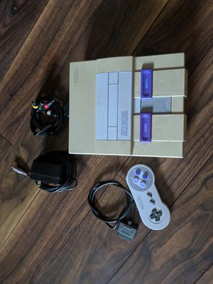 Super Nintendo with controller for Sale in Chicago, IL