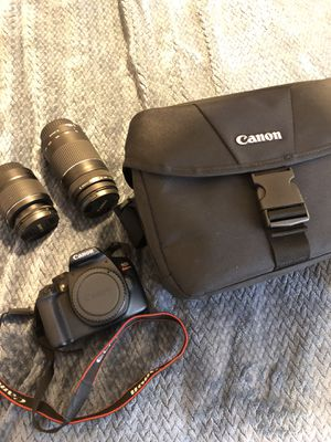 Canon T6 for Sale in Valley Center, CA