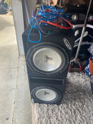 JL Audio speaker and Amp for Sale in Union City, CA