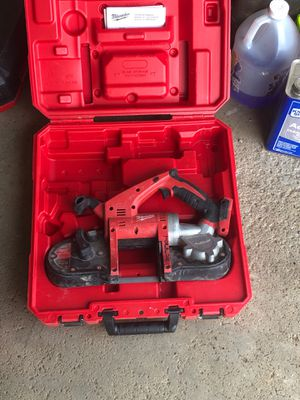 Milwaukee m 18 band saw for Sale in Westerville, OH