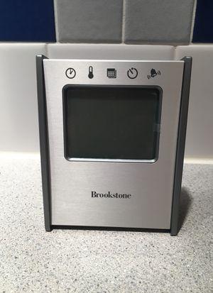 Brookstone 5-in-1 Sensor clock for Sale in Lake Oswego, OR