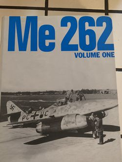 Me-262 Volumes 1-4 Hardcover by J.Richard Smith Eddie J.Creek Classic Publication for Sale in Elk Grove,  CA