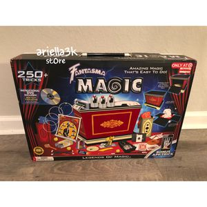 Fantasma Ultimate Magic Legends Set 300+ Fun Game Tricks For Kids & Children for Sale in Kissimmee, FL