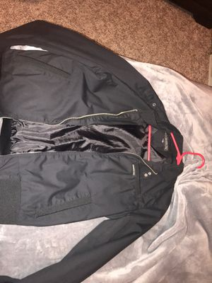 Black zip up jacket for Sale in Hazen, ND
