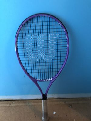 Tennis racket and bag for Sale in Old Mill Creek, IL