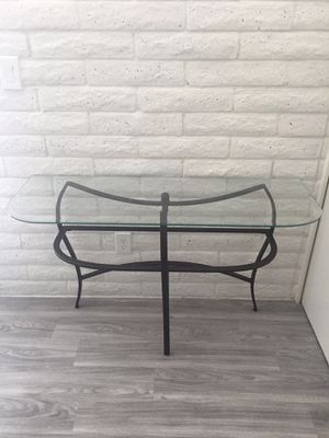 Glass Console/Entryway Table for Sale in Phoenix, AZ