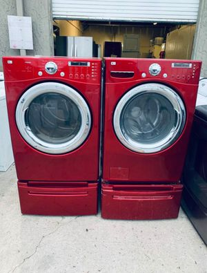 LG washer and dryer for Sale in Los Angeles, CA