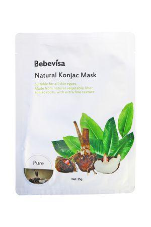 Bebevisa Vegan Konjac Whitening Sheet Face Mask Pure Konjac (1 Sheet Mask) for Sale in San Marcos, CA