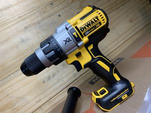 NEW! 🛠 DEWALT 20-Volt ⚡️ MAX XR Edition Lithium-Ion Cordless 1/2 in. Premium Brushless 🔨 Hammer-Drill (TOOL-ONLY!) for Sale in Delano, CA