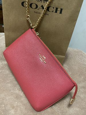 Brand New Authentic Coach wristlet with tags for Sale in North Bethesda, MD