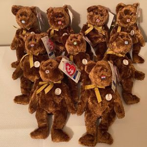 Ty Beanie Babies 2002 FIFA World Cup Champion Bears for Sale in Rockville, MD