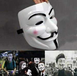 NEW V for Vandetta mask halloween guy fawkes anonymous cosplay fancy dress costume party for Sale in San Dimas, CA