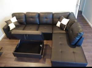 Sectional and ottoman for Sale in Pacific, WA