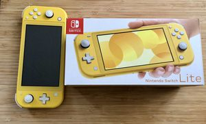 Nintendo Switch lite for Sale in Seattle, WA