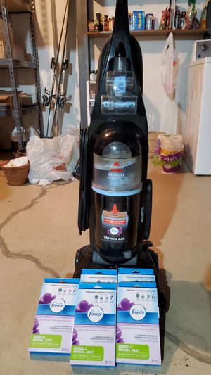 Bissell Velocity bagged vacuum for Sale in Gahanna, OH