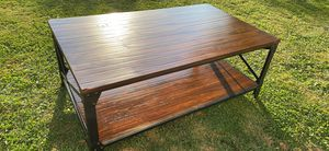 Real wood and metal coffee table for Sale in Hamburg, NY