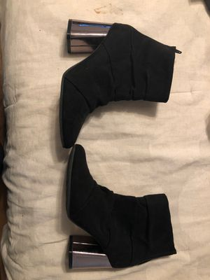 Black pointy booties for Sale in Bakersfield, CA