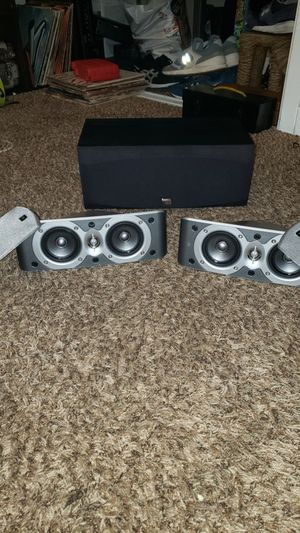 JBL scs300 surround and onkyo center for Sale in ARROWHED FARM, CA
