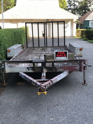 16' car trailer for Sale in Clinton, MD