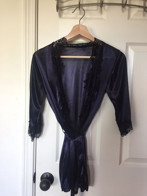 Navy Silk Robe (XS/SM) for Sale in Bend, OR