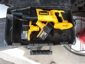 Dewalt Type 1 Rotary Hammer Drill and Case 18v for Sale in Fargo, ND