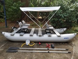Sea Eagle Fold Cat Pontoon boat for Sale in Sammamish, WA