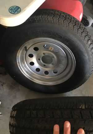 "5 lug 15"" Trailer Spare Tires & Rim for Sale in Riverview, FL"