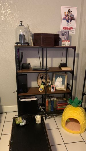 4 Ikea Units (3 bookshelves 1 media stand) for Sale in Tampa, FL