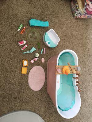 18in Doll Bath Set for Sale in El Cajon, CA