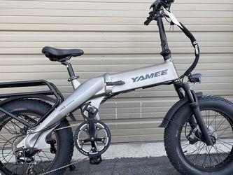"YAMEE XL - 750 Watts ""Self-Charging"" Fat Tire Folding Aluminum Electric Bike for Sale in Diamond Bar,  CA"