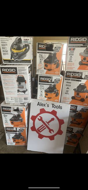 Ridgid vacuum for Sale in Riverside, CA