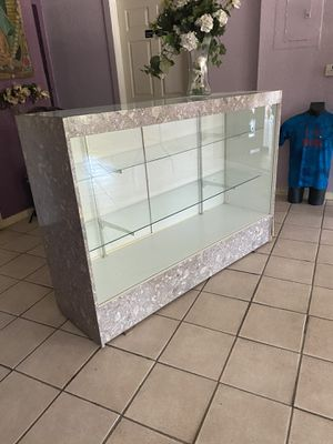 Glass showcase for Sale in San Antonio, TX